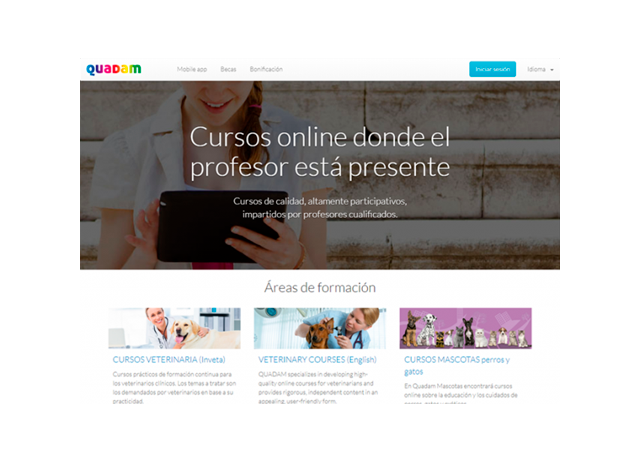 Plataforma de E-learning Quadam.com