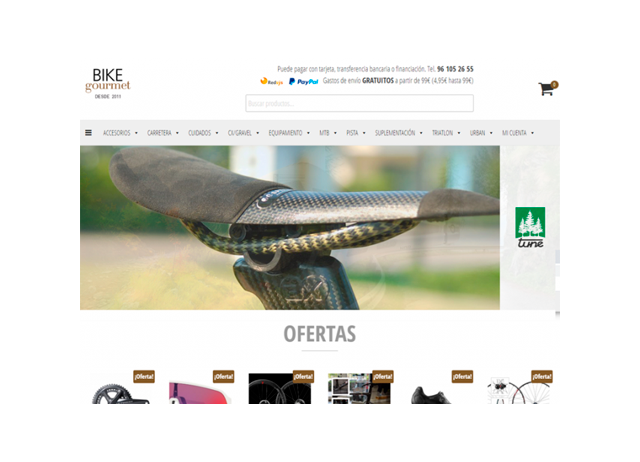 Tienda online – bike-gourmet.com